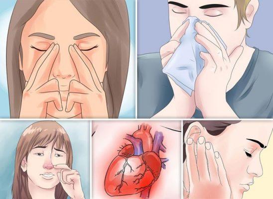 Симптомы полипозного риносинусита