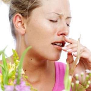 Аллергический ринит или насморк