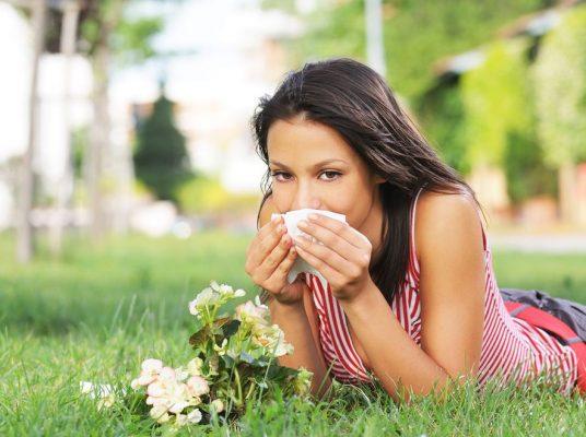 Аллергический насморк - описание
